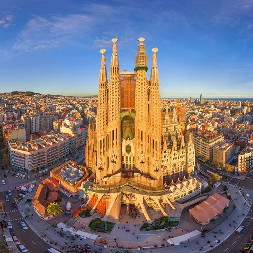 Barcelona- Sagrada familia