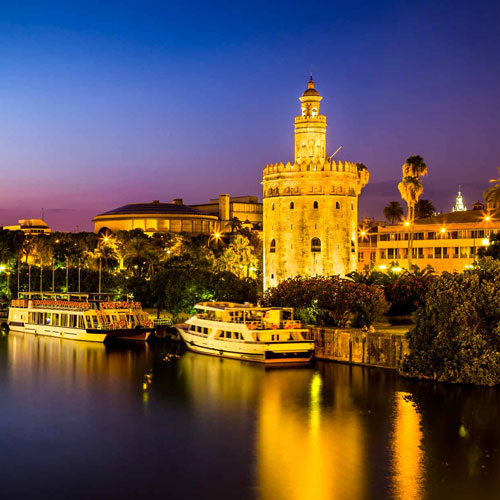 Sevilla Rio Guadalquivir